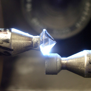 second round of bruting in diamond cutting