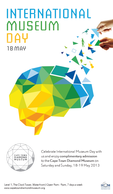 International Museum Day 18 May 2013 - Complimentary admission to the Cape Town Diamond Museum