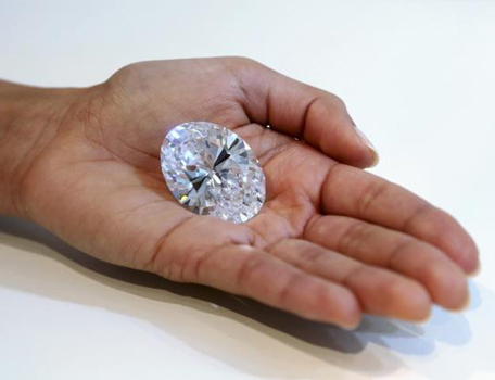 The Magnificent Oval Diamond