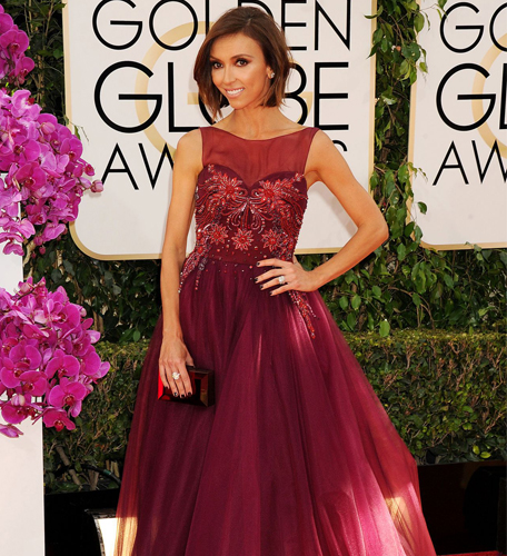 Giuliana Rancic Golden Globes 2014