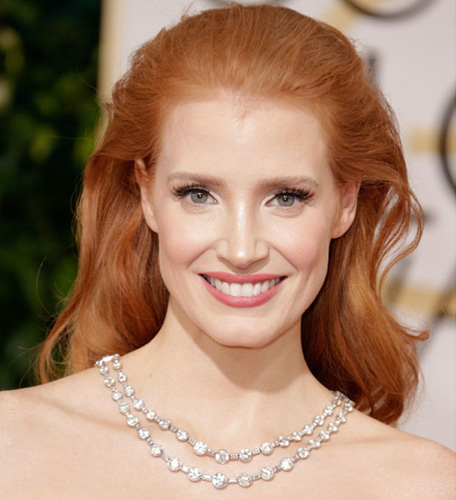 Jessica Chastain Golden Globes 2014