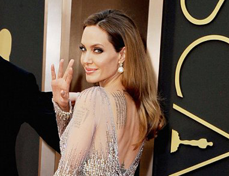 Angelina Jolie Academy Awards 2014
