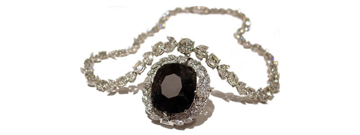 Black Diamond Neckpiece
