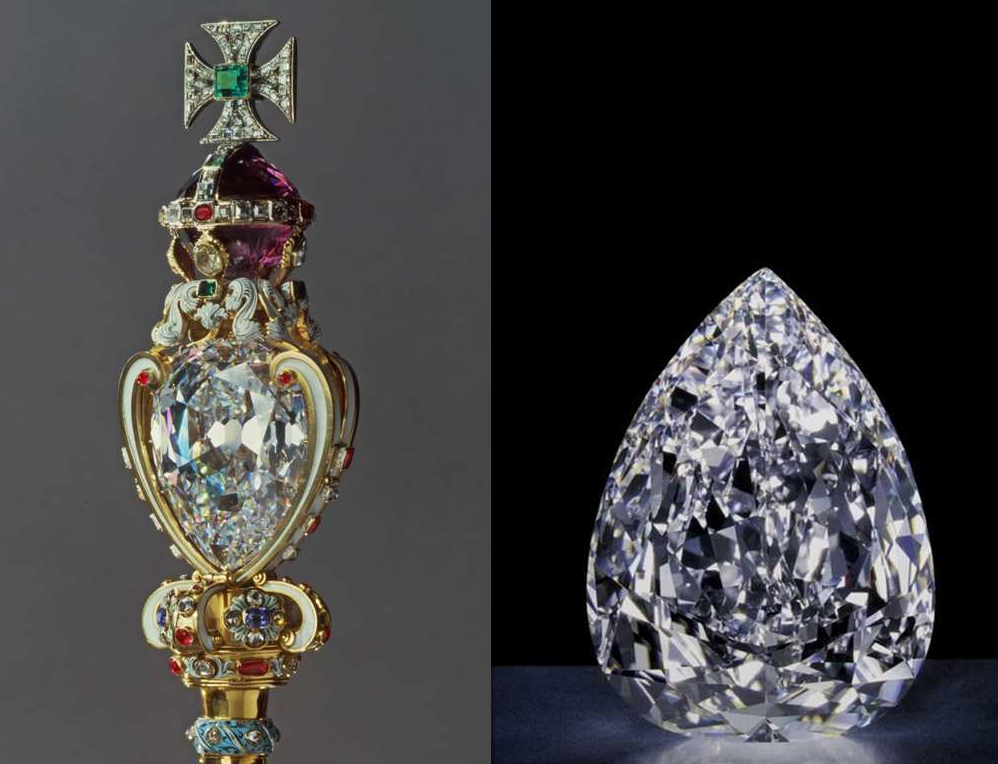 Royal Scepter with diamonds