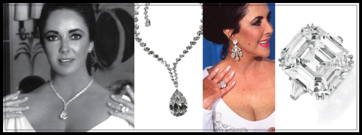 The actress was the proud owner of the Taylor-Burton diamond