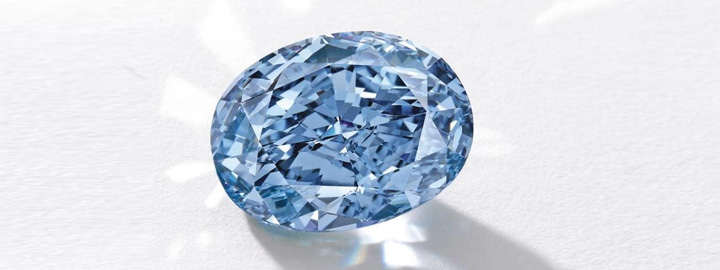 De Beers Millennium Blue Diamond