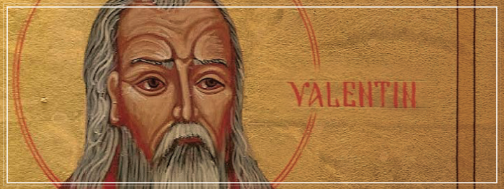 Saint Valentine is widely recognised as the saint of love