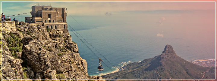 Celebrate your love for one another while enjoying the view of Cape Town