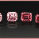 Natural pink and red diamonds are extremely rare in nature