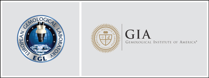 The most recognisable grading laboratories in the world are the GIA and EGL
