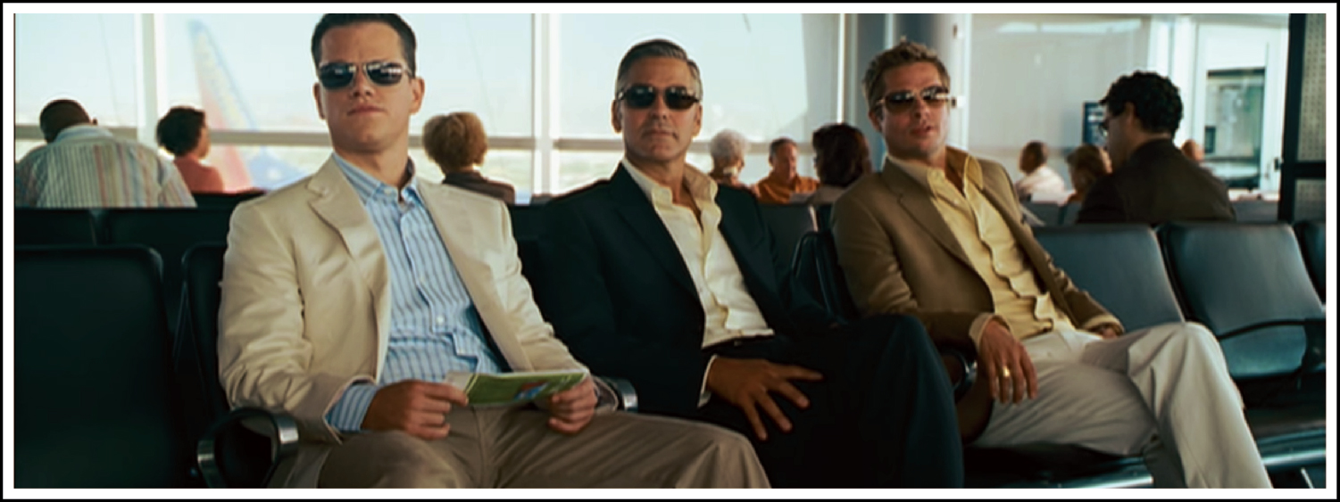 Brad Pitt, Matt Damon and George Clooney plan on stealing a R3 billion diamond necklace in Ocean's Thirteen