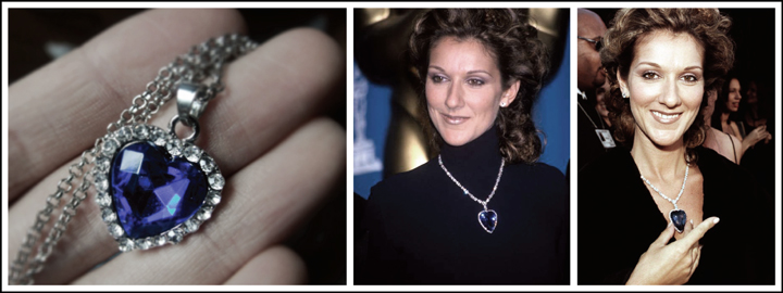 Celine Dion wore a replica of the diamond at the 1998 Academy Awards ceremony