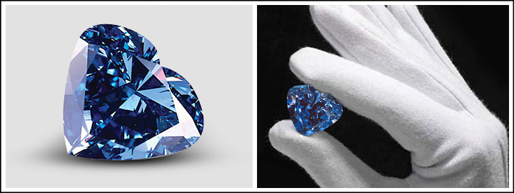 Heart of Eternity Blue Diamond