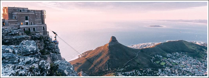 EXPERIENCE TABLE MOUNTAIN FROM THE TOP