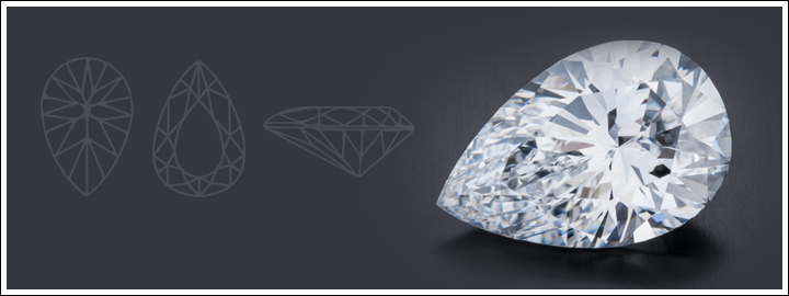 There's nothing more beautiful than an out of the ordinary diamond cut.