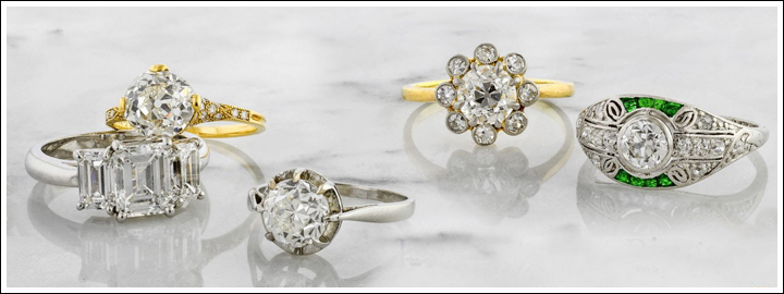 There's nothing more extraordinary than a classic solitaire or an Art Deco inspired diamond engagement ring