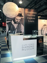 Cape Town Diamond Museum stand at Tourism Indaba 2013
