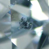 cloud diamond inclusion