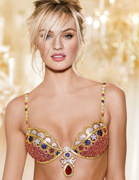 Candice Swanepoel Fantasty Bra for Victoria Secret