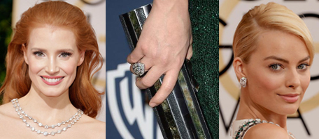 Diamonds at the Golden Globes Awards 2014