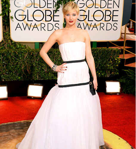 Jennifer Lawrence Golden Globes 2014