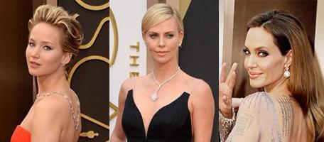 Diamonds at the Academy Awards Oscars