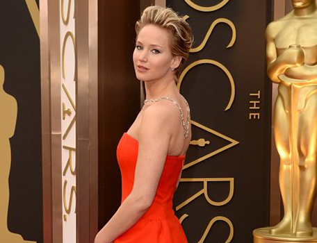 Jennifer Lawrence Academy Awards 2014