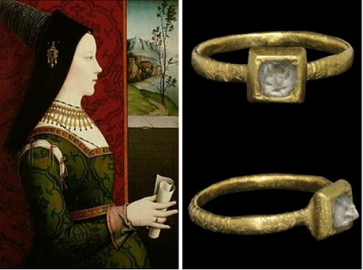 Mary of Burgundy's diamond ring