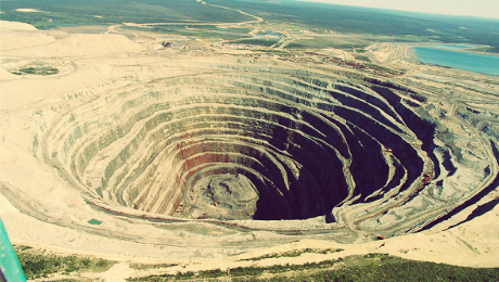 diamond mine