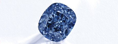 Blue Moon Diamond on auction