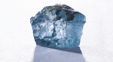 Blue Moon rough diamond