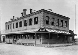 historic building in Kimberley, South Africa