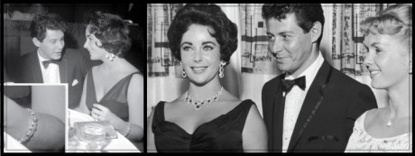 Actor, Eddie Fisher proposed to Elizabeth with a diamond pendant