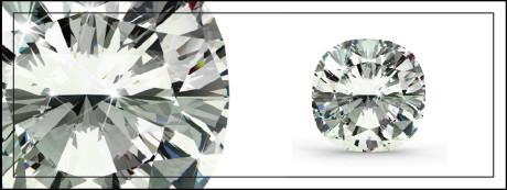 round cushion cut diamond