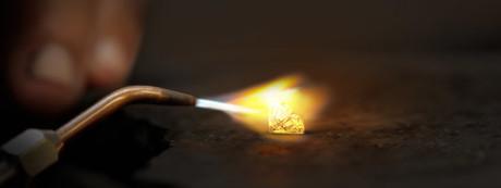 diamond fire test