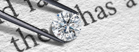 diamond transparency test
