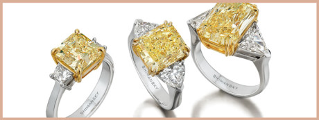 Fancy yellow diamonds are extremely rare and mesmerising