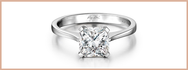 The solitaire style ring remains classic throughout the years