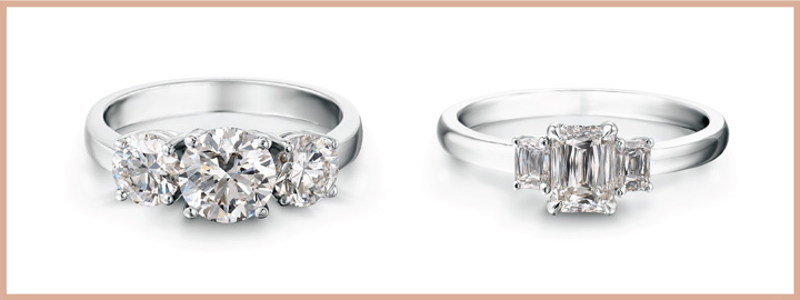 Trilogy Engagement Ring Style