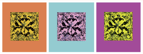 Like, Andy Warhol's work diamonds have become popular amongst the Hollywood elite