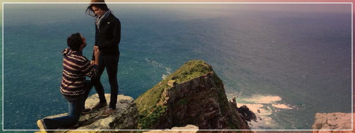 Take her breath away with a proposal at Cape Point