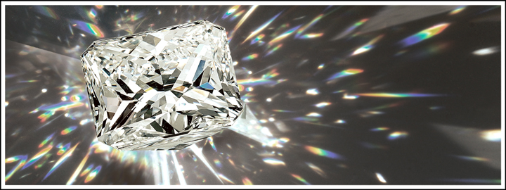 A faceted gemstone requires the attention and patience of a skilful diamond jeweller