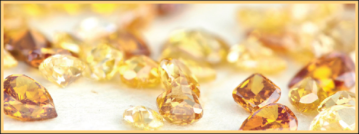 Nitrogen is said to be responsible for the yellow or orange hues in a diamond