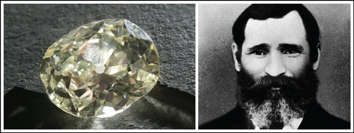 One of the largest diamonds were found by a 15-years-old boy