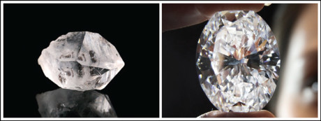 A diamond is 58 times harder than anything in nature
