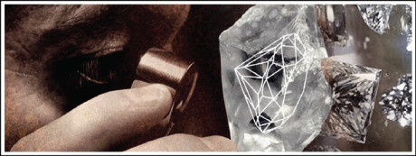 A diamond loses up to 50% of its weight during the cutting and polishing process