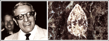 Aristotle Onassis purchased the Niarchos diamond for his wife, Charlotte Ford
