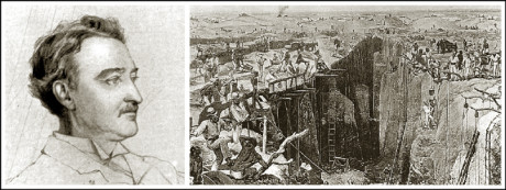 Cecil John Rhodes and Barney Barnato started a few large mining companies in Kimberley