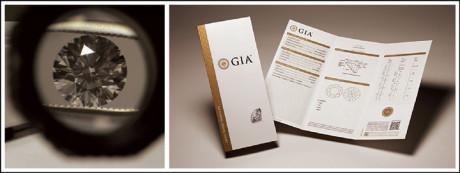 A diamond grading report contains verified information about the diamond's unique characteristics