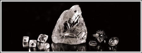 The Cullinan diamond was polished into nine large stones and ninety-six smaller stones